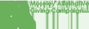 Moseley Alternative Giving Campaign Logo